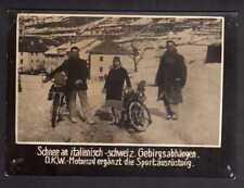 117847 Foto DKW Motoren Motorrad Sportausrüstung Schnee 1928 Rasmussen
