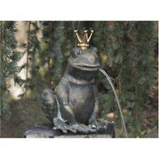 Figura Animale Re Dei Ranocchi Gioco D'Acqua IN Bronzo Rana RO-88495