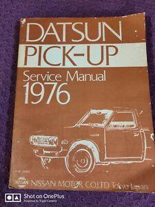 1976 DATSUN PICKUP SHOP MANUAL ORIGINAL