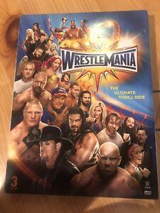 WWE: Wrestlemania XXXIII (DVD, 2017)M