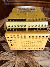 PILZ PZE9 8S/10 SAFETY RELAY P/N 774144  120VAC 10.5VA