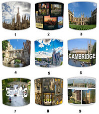 City of Cambridge Lampshades, Ideal To Match city of cambridge Wall Decals