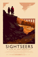 VARIANT Olly Moss Sightseers Screen Print Movie Poster Mondo #d 125 Ben Wheatley