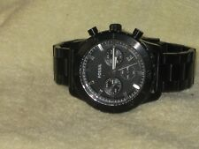 FOSSIL Keaton Chronograph-Black Stainless Steel Men's Watch-CH-2816