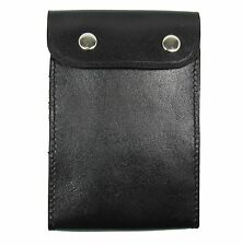 Police Belt Pouch for Duty Notebook Real Leather R0026