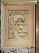 1764 Map of Charlestown Jaques Bellin
