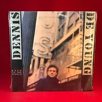 DENNIS DEYOUNG Back To The World 1986 USA Vinyl LP + INNER EXCE Styx DE YOUNG