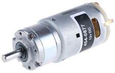 RS Pro, 12 V, 4.5 â?? 15 V dc, 2000 gcm, Brushed DC Geared Motor, Output Speed 3