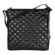 b51e1110095cb L. CREDI Damen Crossbody Bag Bille gesteppte Umhängetasche schwarz