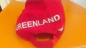 Cap official sport Greenland (Island Games)