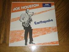 JOE HOUSTON / EARHQUAKE ~ 1985 French Pathe Album w Insert ~ NEAR MINT