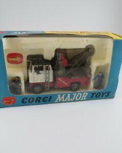 Corgi Major Holmes Wrecker Ford with Tilt Cab in Box No. 1142