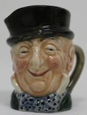 Royal Doulton Mr Micawber Miniature Character Jug D6138 Retired 1960