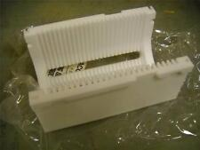 """3"""" Teflon Wafer Carrier 25 Slot New Old Stock Milled from Solid Block of Teflon"""