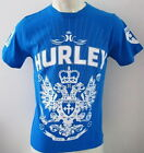 HURLEY 'CHARGED' Mens Premium Top Tee T-shirt Size S M L XL XXL blue