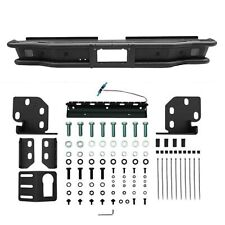 Westin 58-81035 Rear Black Steel Bolt-On Outlaw Bumper with Mount Kit for Tundra