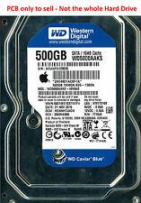 PCB 2060-771640-002 - Western Digital WD5000AAKS - WD5000AAKS-40V6A0 - 500G0