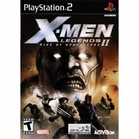 X-Men Legends II: Rise of the Apocalypse PlayStation 2 PS2 Complete *CLEAN VG