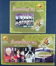 Malediven Maldive 2005 Fußball EM 2004 Euro Cup Soccer 4432-35 + Bl.586 MNH