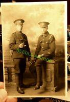 WWI NEWFOUNDLAND REGIMENT SOLDIERS - REPRODUCTION PHOTO