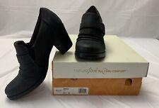 Natural Soul All-Thru Comfort Women's Black Size 9-1/2 2 Inch Heel