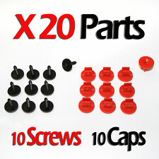 20 Engine Undertray Cover Clips Bottom Screws Shield Guard For Ford Focus Mondeo