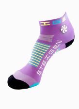 Steigen Bubblegum Purple Quarter Length Performance Running and Cycling Socks