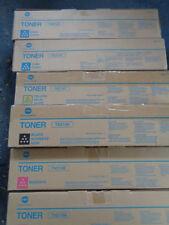 Genuine Konica Minolta CYAN TONER CARTRIDGE TN210C BIZHUB C250 C252 SERIES