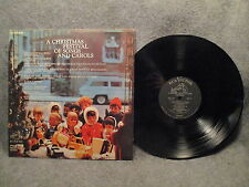 """33 RPM 12"""" LP Record A Christmas Festival Of Songs & Carols RCA Victor PRS 195"""
