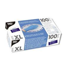 1000 blaue Latex Handschuhe puderfrei Einweghandschuhe Größe XL