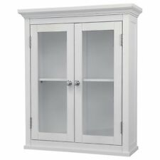 Madison Wall Cabinet with 2 Doors, White