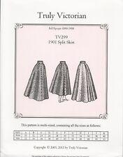Schnittmuster Truly Victorian TV 299: 1901 Split Skirt