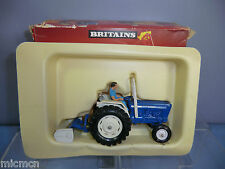 "VINTAGE BRITAINS MODEL No.9516 FORD ""6600"" TRACTOR    & YARD SCRAPER  VN MIB"