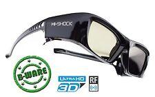 """Aktiv Shutter 3D Brille """"Black Diamond"""" für Beamer von SONY VW500ES, VPL HW65 ES"""