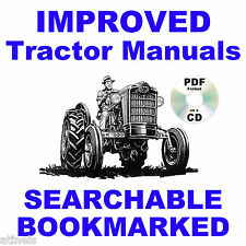 Ford 600 800 Tractor SERVICE & PARTS Catalog & OWNERS Manual 1953-64 Manuals CD