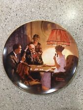 Norman Rockwell Collector Plate Edwin M Knowles Fine China