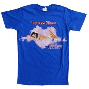 Katy Perry Teenage Dream The California Dreams 2011 Tour Blue Unisex T-Shirt M