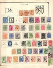 Kenr2: Finland Collection from 1840-1940 Scott Intern Bound Album