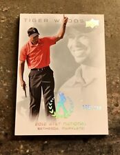 New listing 2013 UD MASTER COLLECTION #74 TIGER WOODS RED N BLACK SUNDAYS AT&T NATIONAL /200