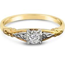 Unbranded Solitaire 18k Fine Rings