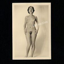 #415 RÖSSLER AKTFOTO / NUDE WOMAN STUDY * Vintage 1950s Studio Photo - no PC !