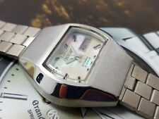 RARE ORIENT TV DIAL MOP MOTHER OF PEARL WORKING AUTOMATIC GENTS WHITE.