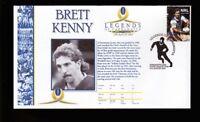 BRETT KENNY LEGENDS OF PARRAMATTA EELS RUGBY COVER