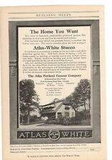 1916 Atlas Portland Cement Company Advertisement (b)