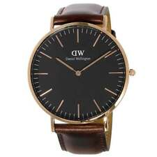 Daniel Wellington DW00100125 Classic Black Bristol Men's 40 mm Quartz Watch