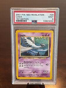 2001 Pokemon Neo Revelation 1st Edition Lugia #20 PSA 9 MINT POP 60 Invest!