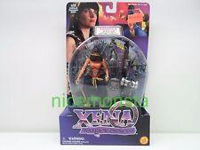 Xena 1998 Toy Biz Warrior Princess Harem Xena Action Figure with Pillar of Power