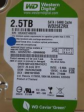 Western Digital WD 25 EZRX - 00 MMMB 0 DCM: harcnv 2abb | 25 Aug 2011 | 2,5tb WD Green