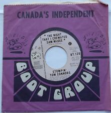 STOMPIN' TOM CONNORS The night I cremated Sam McGee COUNTRY FOLK Canada BOOT 45