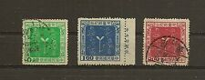 CHINA TAIWAN 1956 Sc#1137-9 Children's Day, USED.